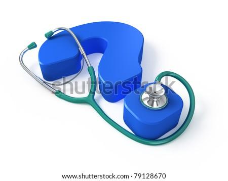 Medical question concept - stock photo