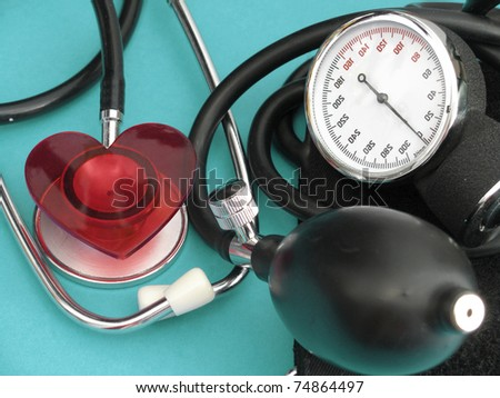 medical set - stock photo