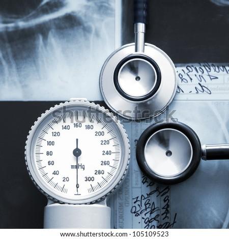 Medical stuff - stock photo