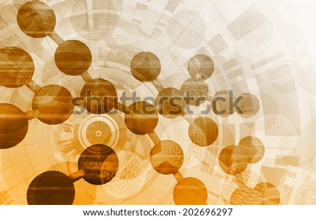 Medical Technology Abstract as a Presentation Concept - stock photo