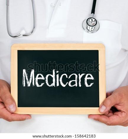 Medicare - stock photo