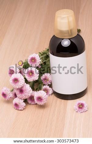 medicine bottle - stock photo