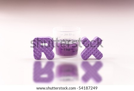 Medicine for the Kids - stock photo
