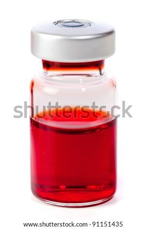 medicine vial - stock photo