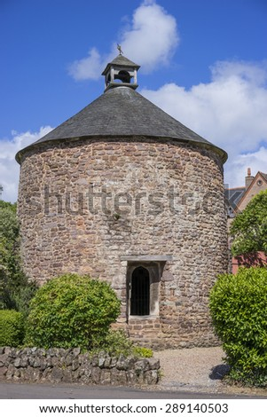 Medieval Dovecote, Dunster ,Somerset,UK - stock photo