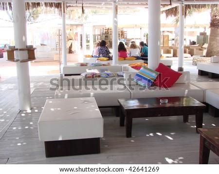 Mediterranean interior - stock photo