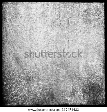 Medium format film frame, grain textured bacground - stock photo