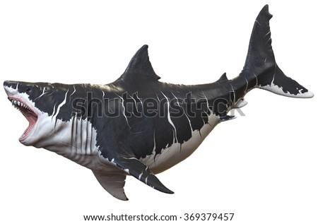 Megalodon - stock photo