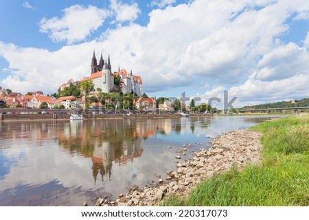 Meissen - Germany - Albrechtsburg - stock photo