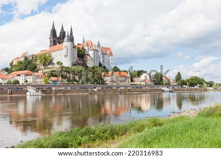 Meissen - Germany - Castle of Albrecht - stock photo