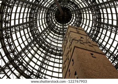 Melbourne, amazing architecture - stock photo