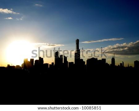 Melbourne, Australia - stock photo