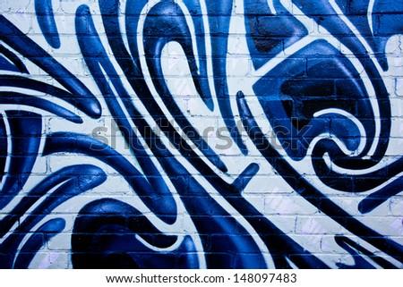 MELBOURNE - JUNE 29: Street art by unidentified artist. Melbourne's graffiti management plan recognises the importance of street art in a vibrant urban culture - June 29, 2013 in Melbourne, Australia. - stock photo