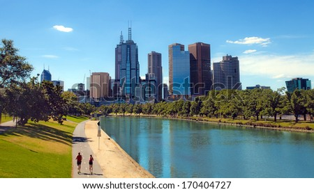 Melbourne, Victoria, Australia  - stock photo