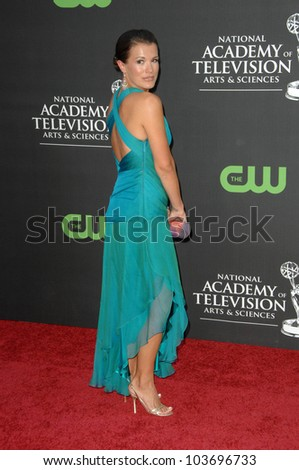 Melissa Claire Egan at the 36th Annual Daytime Emmy Awards. Orpheum Theatre, Los Angeles, CA. 08-30-09 - stock photo