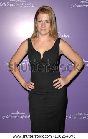 Melissa Joan Hart  at 'Celebration of Babies' luncheon to benefit March of Dimes. Beverly Hilton Hotel, Beverly Hills, CA. 09-27-08 - stock photo
