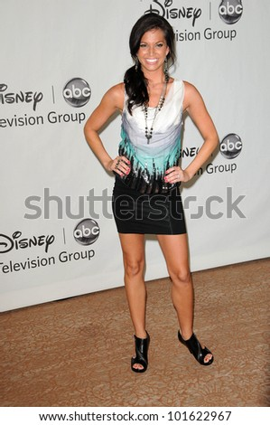 Melissa Rycroft at the Disney ABC Television Group Summer 2010 Press Tour - Evening, Beverly Hilton Hotel, Beverly Hills, CA. 08-01-10 - stock photo