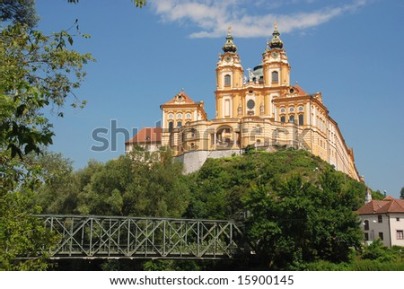 Melk,Austria - stock photo