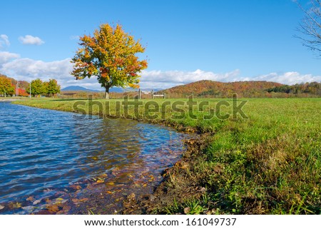 Melton Lake Park, Oak Ridge, Tennessee - stock photo