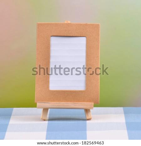 Memo or photo frame  - stock photo