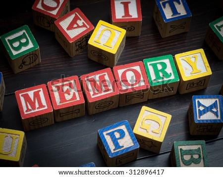 Memory concept - stock photo