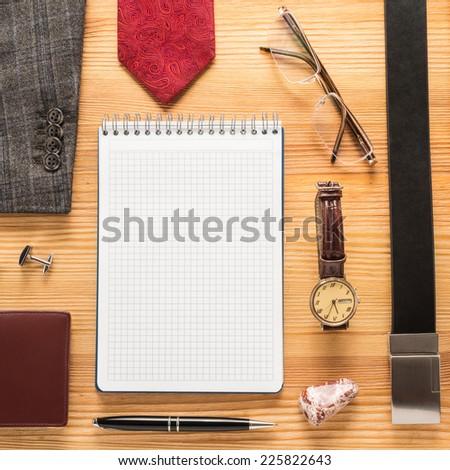 Men accessories   - stock photo