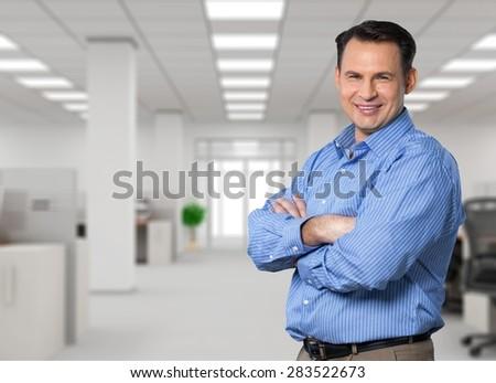 Men, Business, Mature Adult. - stock photo