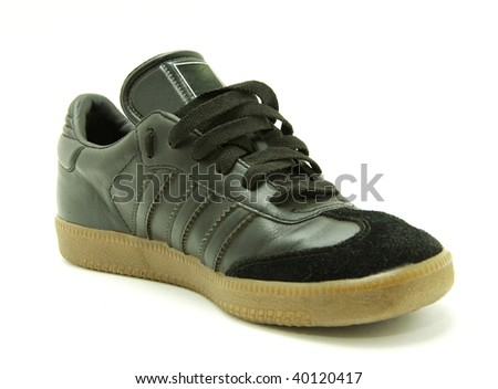men's running shoes - stock photo