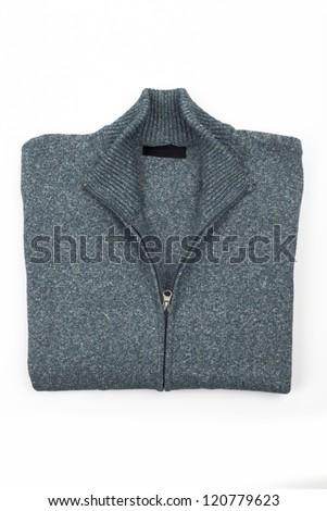 men's sweater - stock photo