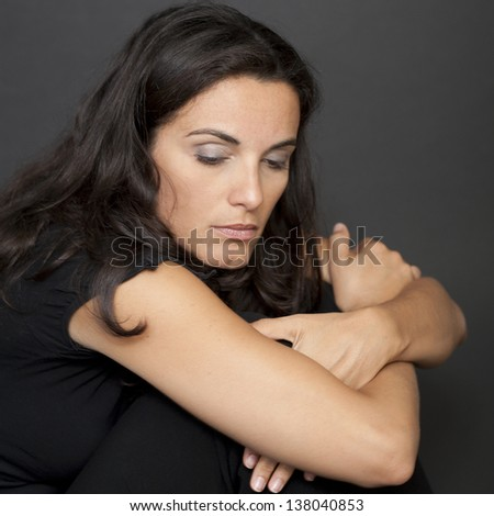 menopause - stock photo