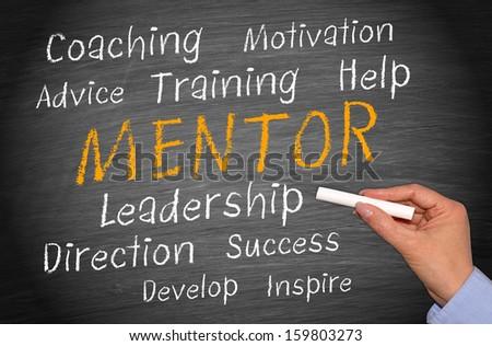 Mentor - Business Concept - stock photo