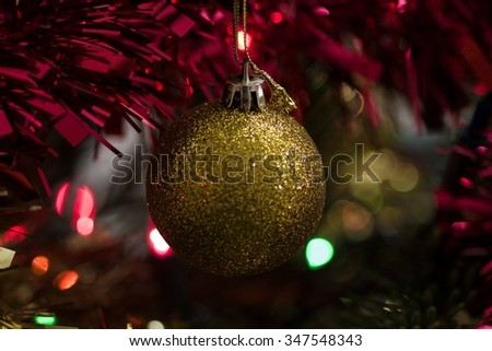 Merry Christmas and Happy New Year - concepts - stock photo