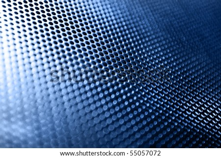 mesh metal texture with light - stock photo