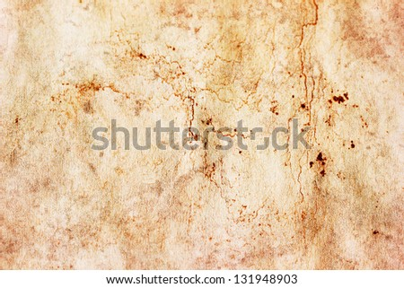 Messy paper grunge texture - stock photo