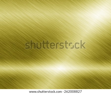 Metal background or texture of brushed with reflections Iron plate and shiny - stock photo