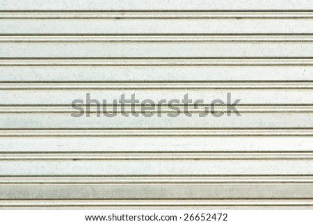 metal blind closeup - stock photo