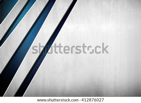 metal design background - stock photo