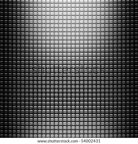 metal diamond background - stock photo