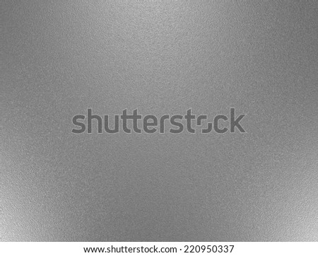 Metal foil, mat wrinkled glass or abstract chrome texture - stock photo