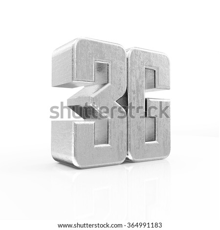 Metal 3G Symbol of Standard Wireless Communication isolated on white reflective background - stock photo