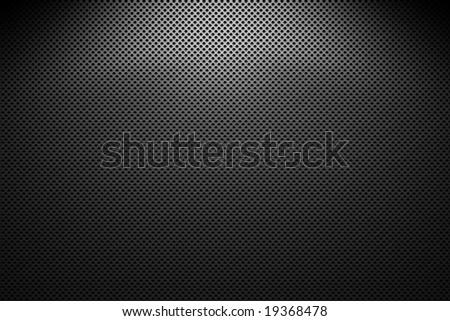 metal grating, black and gray - stock photo