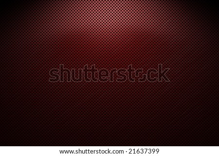 metal grating red and black - stock photo