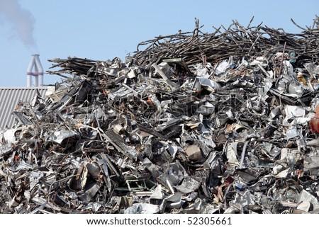 Metal industry - stock photo