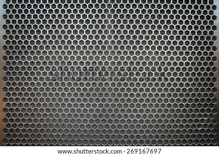 metal mesh Seamless Pattern - stock photo