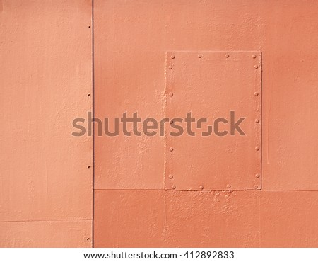 Metal patches, abstract background or texture                               - stock photo