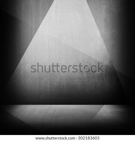 metal pattern interior background - stock photo