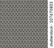 Metal plate. Seamless texture. - stock photo