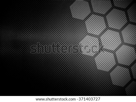 metal plate with cellular design background - stock photo