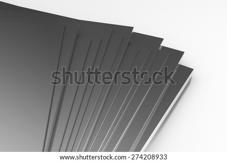 Metal Plates - stock photo