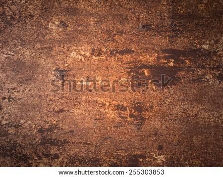 metal rust background - stock photo